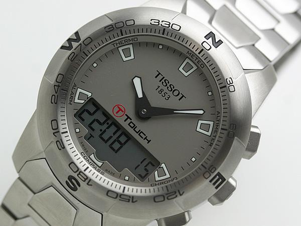 TISSOT ティソ  ティータッチツー 腕時計 正規取扱