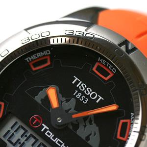 TISSOT ティソ ティータッチ2 双方向回転ベゼル