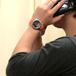 TISSOT ティソ ティータッチ 腕時計 正美堂男性スタッフ着用
