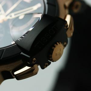 TISSOT ティソ PRC200 ダイバーズウォッチ 腕時計 クロノグラフ  風防 サファイアクリスタル