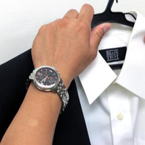 TISSOT t0554171105701 着用モデル腕周り18.5cm