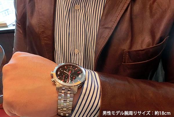 スーツにも似合う腕時計 ティソ アジア競技大会限定モデル