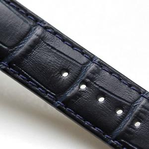 ティソ腕時計 T055.417.16.047.00 ネイビーカラーの革ベルト