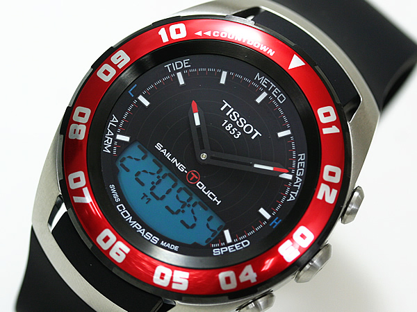 TISSOT ティソ  セーリングタッチ ブルー 腕時計
