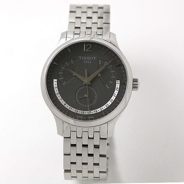 ティソ腕時計は、ちょっとしたこの遊びも面白い腕時計。