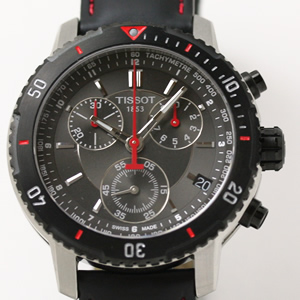 TISSOT ティソ PRS200 ダイバーズウォッチ 腕時計 クロノグラフ  風防 サファイアクリスタル