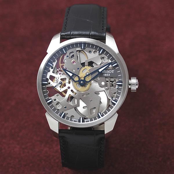 ティソ 手巻き式腕時計 TISSOT