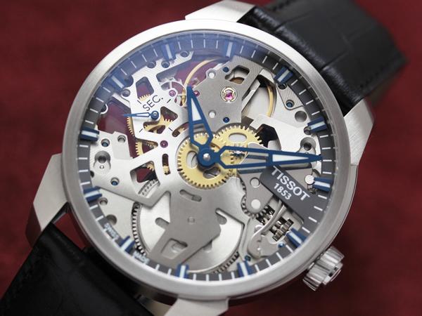 ティソ スケルトン 腕時計