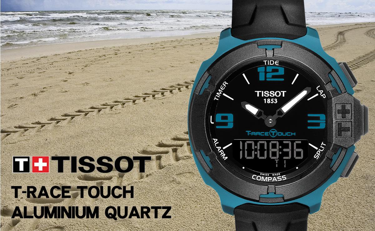 TISSOT T-RACE TOUCH ALUMINIUM QUARTZ T081.420.97.057.04