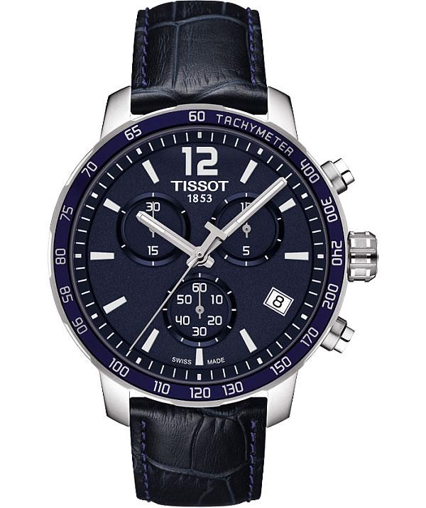 ティソ(TISSOT) クイックスター(QUICKSTER)クォーツ腕時計 T095.417.16.047.00