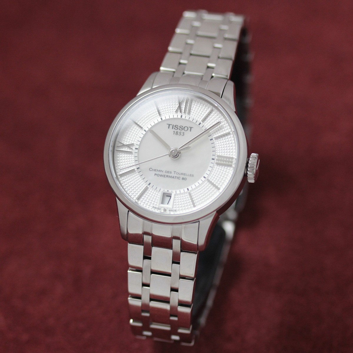 ティソ 自動巻き 女性用腕時計t0992071111800