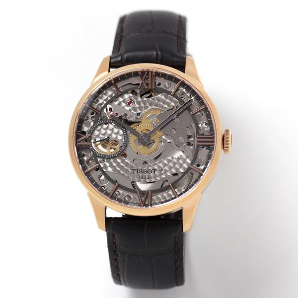 TISSOT(ティソ) 自動巻き腕時計 スケレッテ T099.405.36.418.00