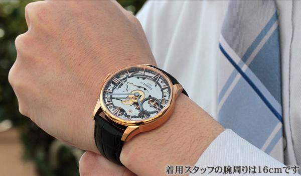 TISSOT(ティソ)腕時計 T099.405.36.418.00 正美堂の男性スタッフが着用