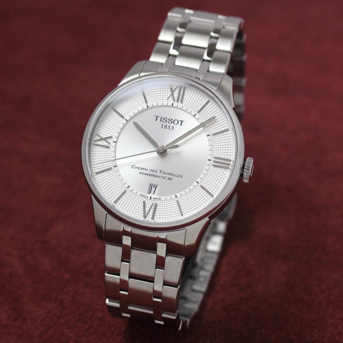 ティソ 自動巻き 女性用腕時計t0994071103800