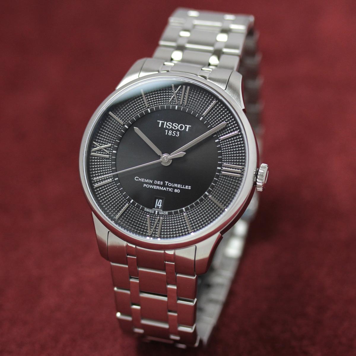 ティソ 自動巻き 女性用腕時計t0994071105800