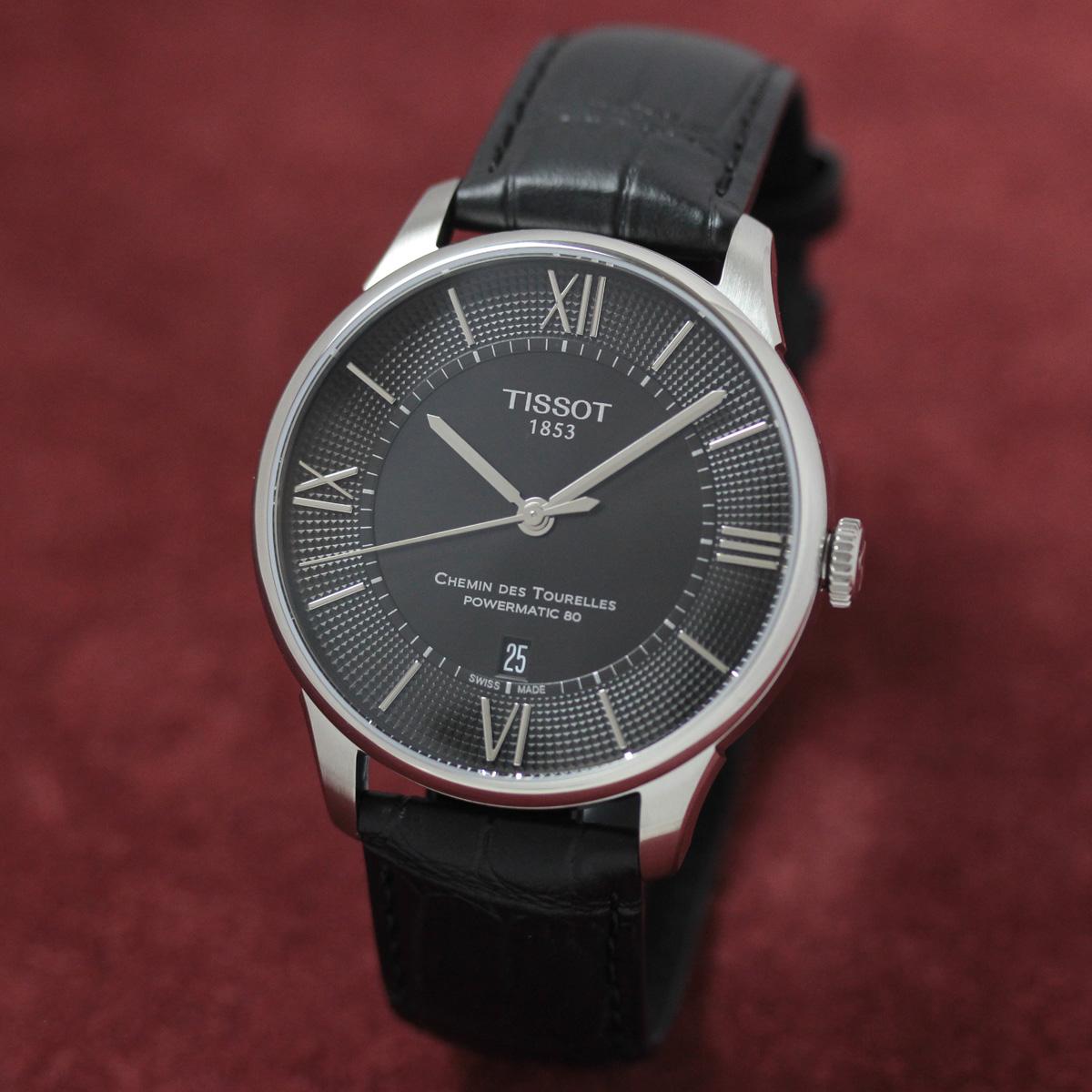 ティソ 自動巻き 女性用腕時計t0994071605800