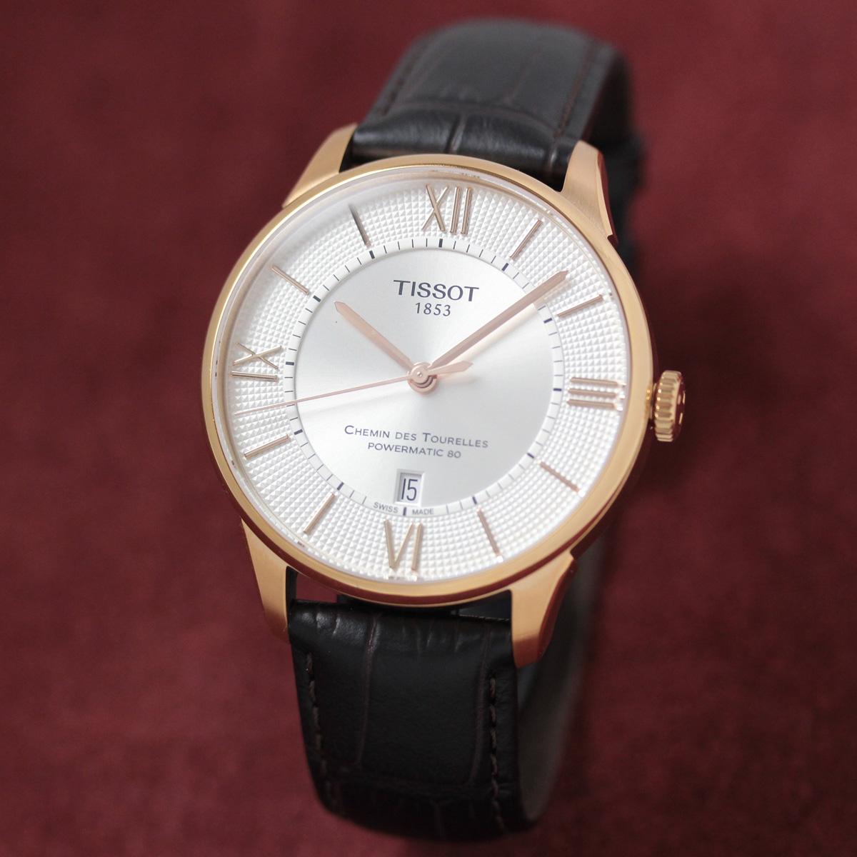 ティソ 自動巻き 男性用腕時計t0994073603800
