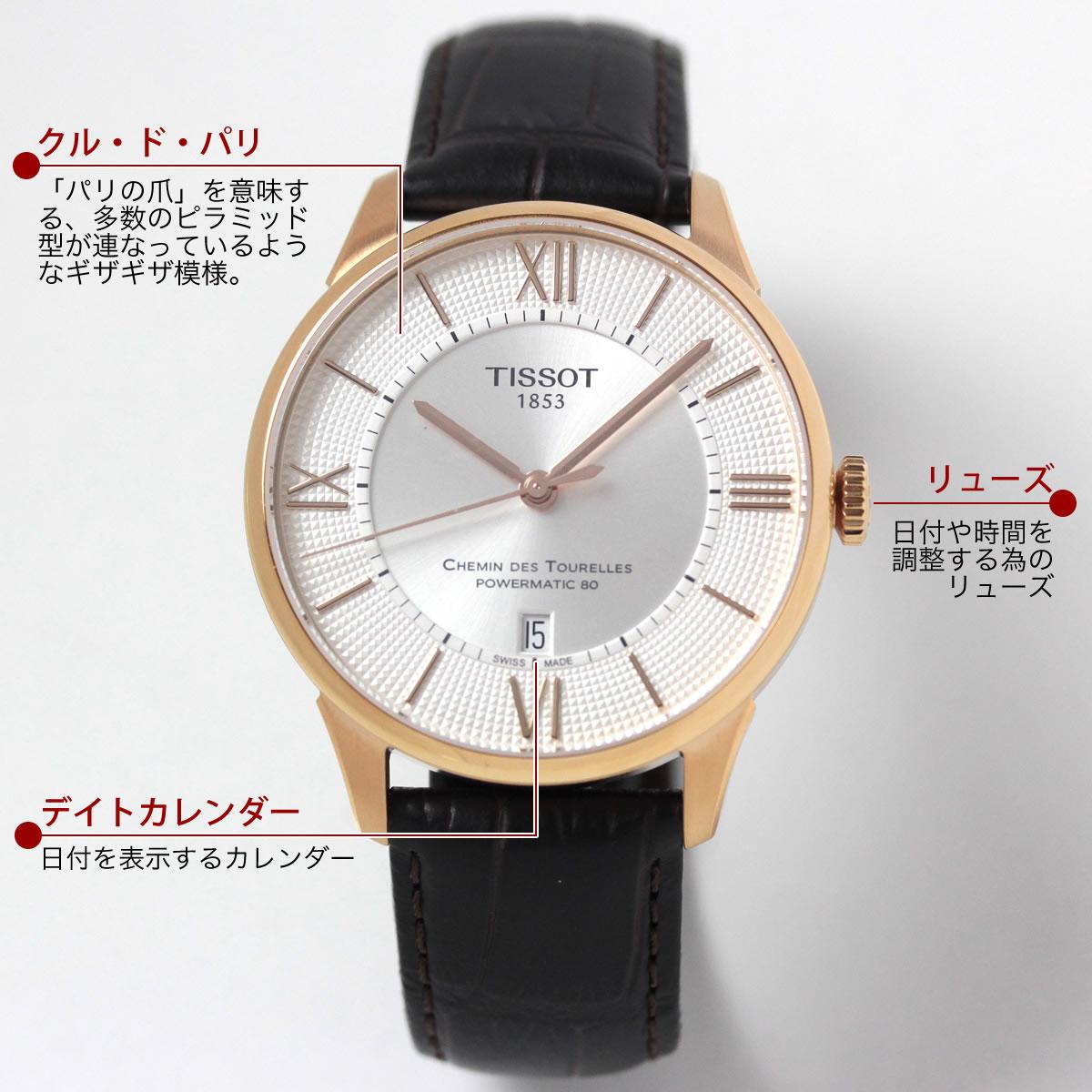 Tissot(ティソ)シャミン・ド・トゥレル ・t0994073603800