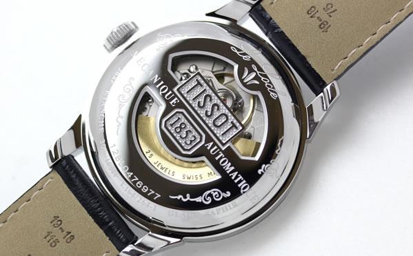 TISSOT ティソ T-CLASSIC 腕時計 自動巻き LE LOCLE ル・ロックル t41142353