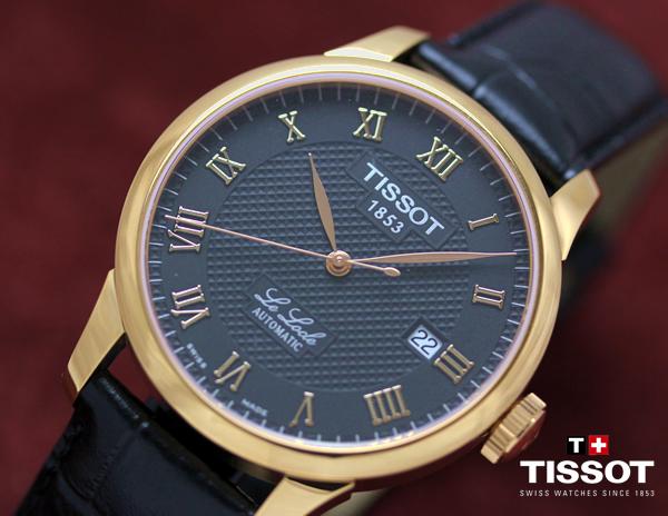 TISSOT ティソ T-CLASSIC 腕時計 自動巻き LE LOCLE ル・ロックル t41542353