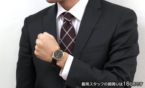 TISSOT ティソ 腕時計 自動巻き LE LOCLE ル・ロックル 試着画像