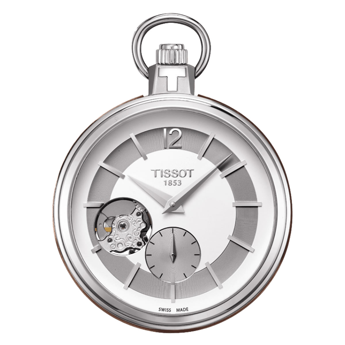 TISSOT POCKET MECHANICAL SKELETON T854.405.19.037.00