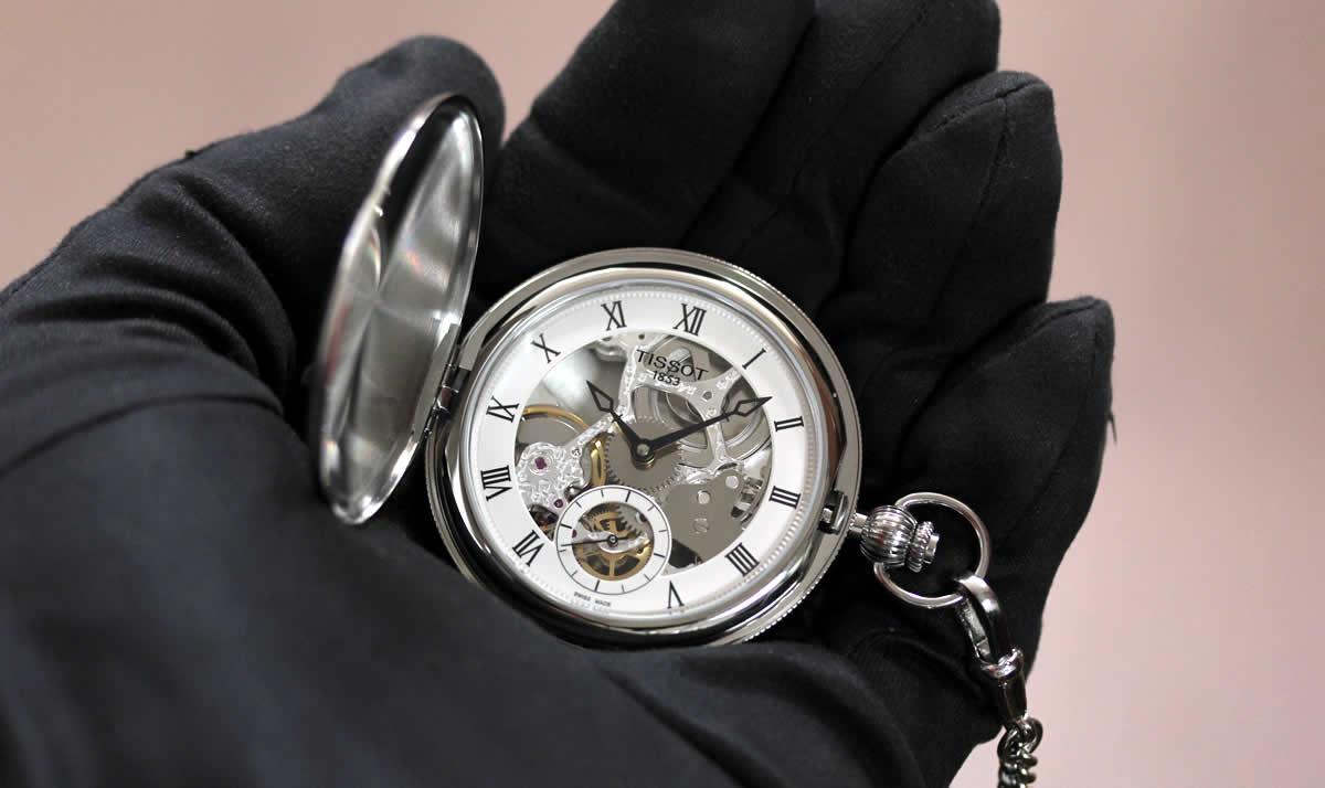 懐中時計 ケース側面 コインエッジ
