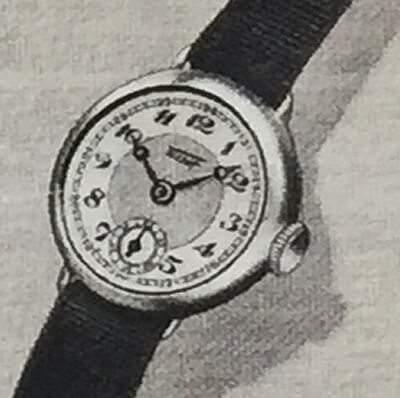 1936年当時のティソ腕時計