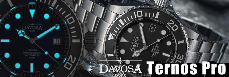 ダボサ DAVOSA テルノスプロ 500mダイバーズウォッチ 腕時計