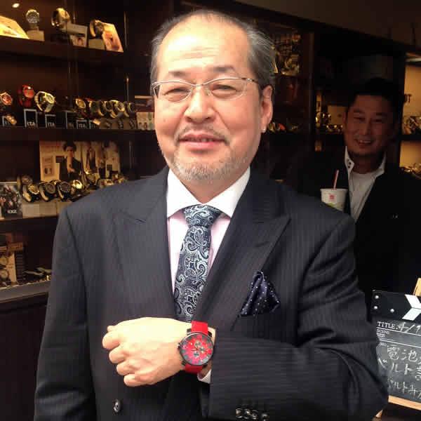 I.T.A.腕時計をお買上げいただきました小松様