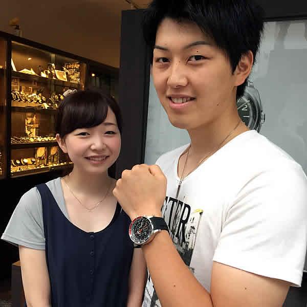 ボストークヨーロッパ腕時計お買上げいただきました尾崎様