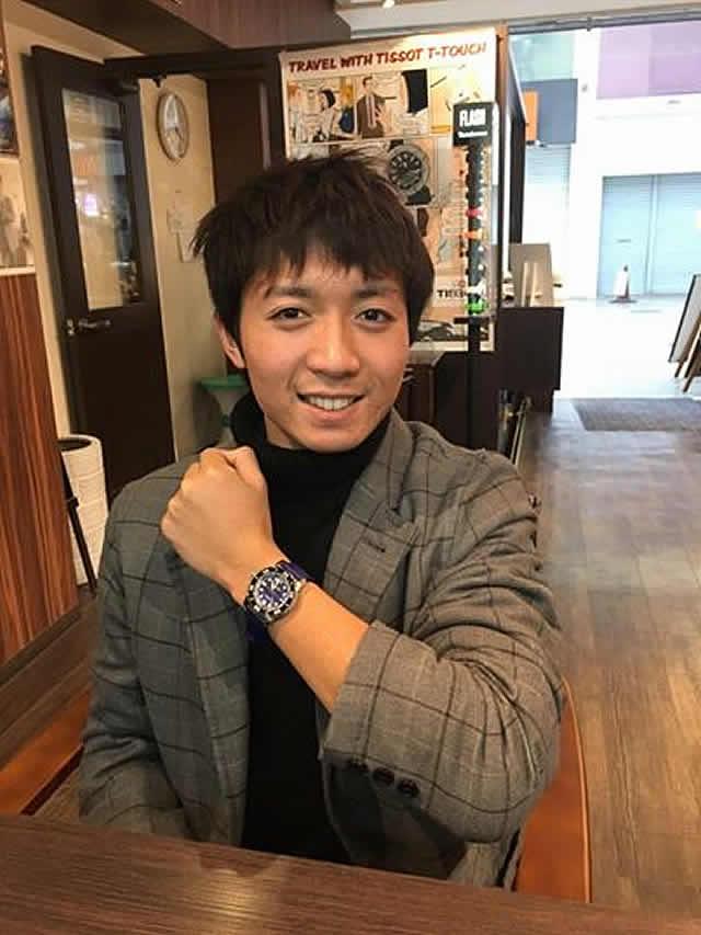 コヴァ腕時計をお買い上げ頂きました川崎様