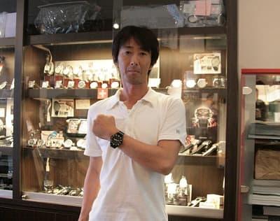 トレーサー腕時計をお買上げ頂きました正美堂時計店のお客様