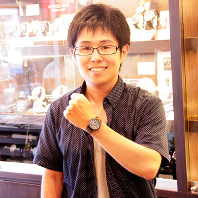 タイメックス腕時計をお買上げいただきました西村様