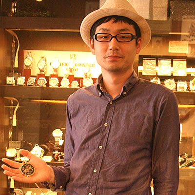 ティソ スケルトン手巻き式懐中時計/T82.4.604.55をお買い上げいただきました伊藤 哲平様