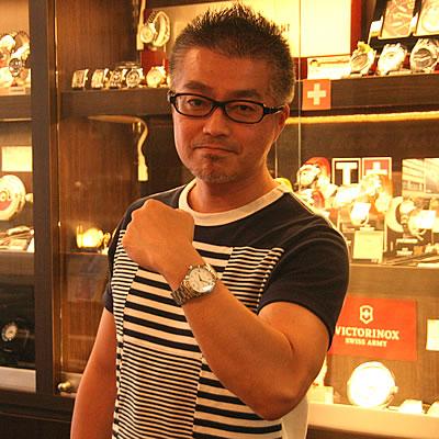 フレデリックコンスタント クラシックオートマチック303MC3P6B腕時計 をお買い上げいただきました山口 喜寛様