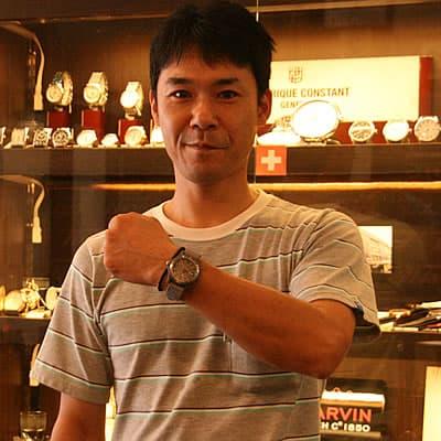 ビクトリノックス時計をお買い上げいただきましたお客様
