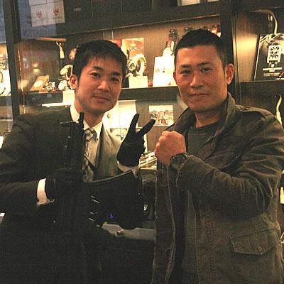 2012年12月MTMスペシャルオプス ファルコン ブラックオンブラック MTM-TI099BB腕時計腕時計をお買い上げいただきました笹木 大輔様