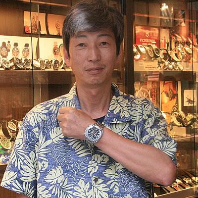2013年6月 U.S.AGENCY.WATCH(ユーエスエージェンシーウォッチ)FBI・クロノグラフ・クォーツ 8649腕時計をお買い上げいただきました渡辺貴宏様