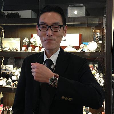 2013年2月 ラコ(Laco) パイロット 自動巻きモデル/861688 腕時計をお買い上げいただきました有村 直憲様。
