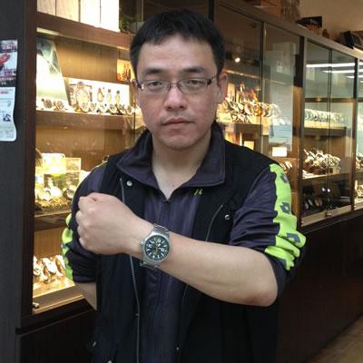 2013年5月 ボストーク・ヨーロッパ エクスペディション2 自動巻きモデル/NH35A-5955196腕時計をお買い上げいただきました澤谷 快彦様