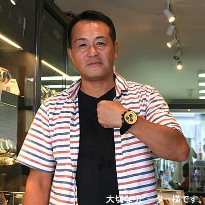 2013年8月 ボストーク・ヨーロッパ アンチャール 世界限定モデル 6S30-5104185腕時計をお買い上げいただきました吉村 信隆様