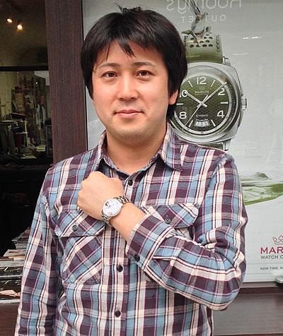 FREDERIQUE CONSTANT(フレデリックコンスタント) パスエイション ハートビートデイト 日本限定モデル 315BS3P6b 腕時計をお買い上げいただきました徳弘様