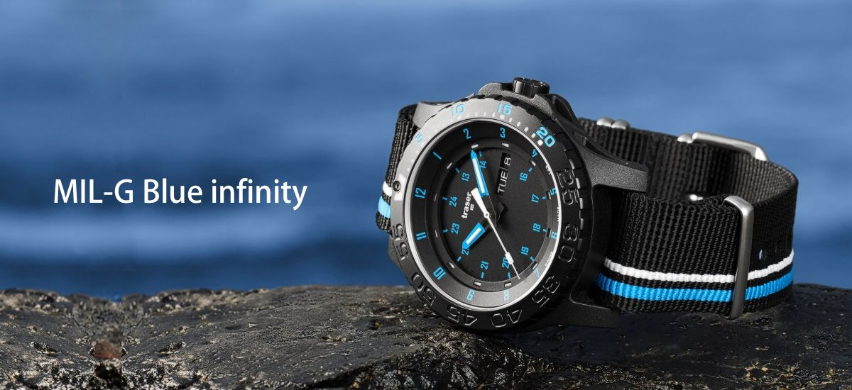 MIL-G Blue infinity トレーサー ブルーインフィニティ