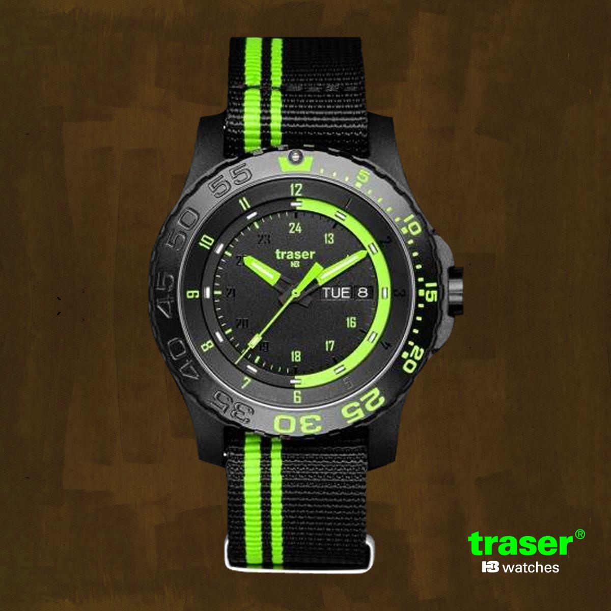 0986260490 トレーサー/TRASER/H3/タイプ6MIL-G グリーンスピリット 9031564/腕時計