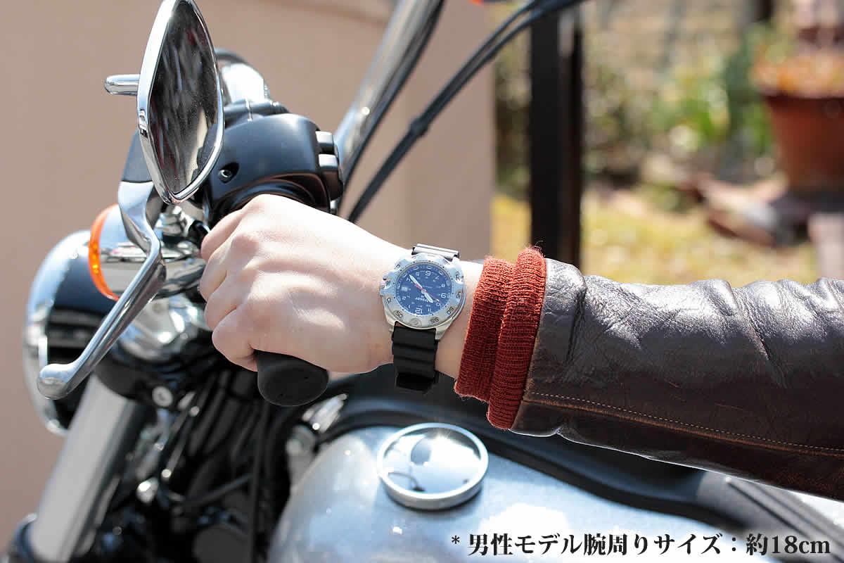 ミリタリーウォッチ トレーサー 腕時計