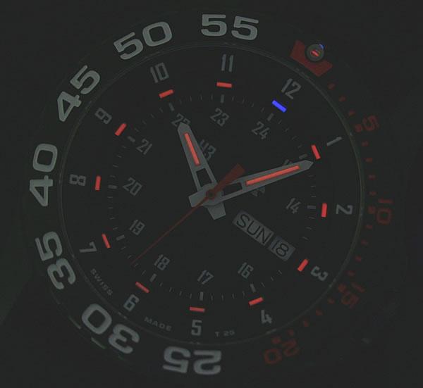 トレーサー トリチウム 赤
