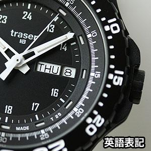 トレーサー腕時計英語表記カレンダー