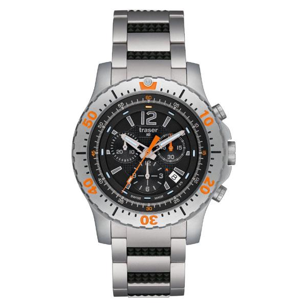 トレーサー エクストリーム・スポーツ 視認性の高いクロノグラフ 腕時計