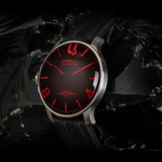 ユーボート U-BOAT ダークムーン腕時計